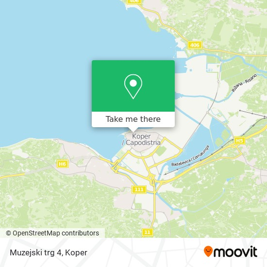 Muzejski trg 4 map