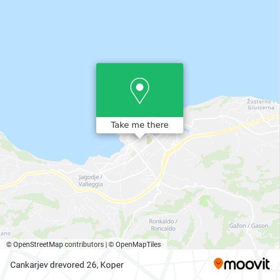 Cankarjev drevored 26 map