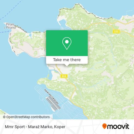 Mmr Sport - Maraž Marko map
