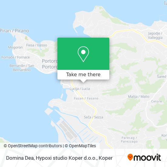 Domina Dea, Hypoxi studio Koper d.o.o. map