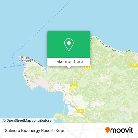 Salinera Bioenergy Resort map