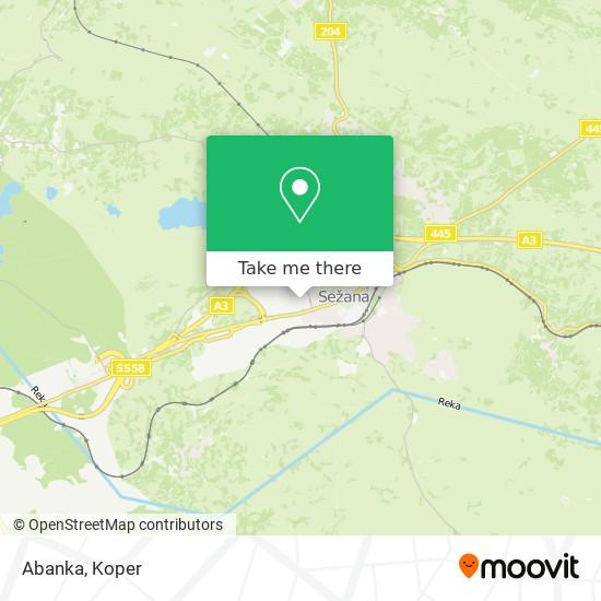 Abanka map