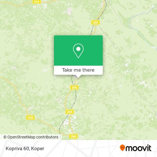 Kopriva 60 map