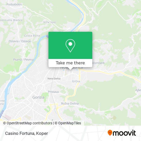 Casino Fortuna map