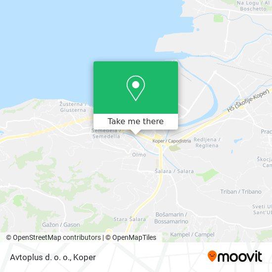 Avtoplus d. o. o. map
