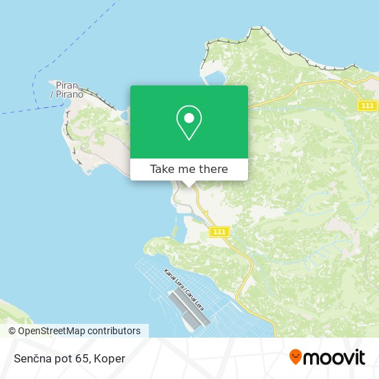 Senčna pot 65 map