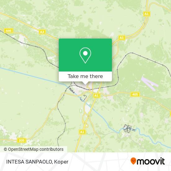 INTESA SANPAOLO map