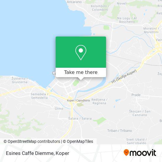 Esines Caffe Diemme map