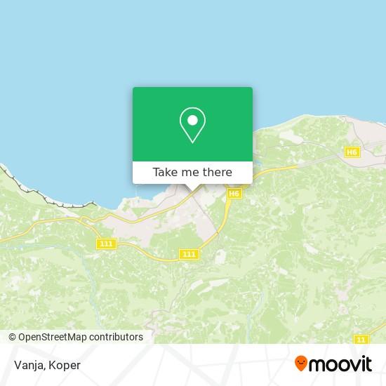 Vanja map