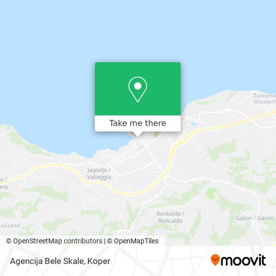 Agencija Bele Skale map