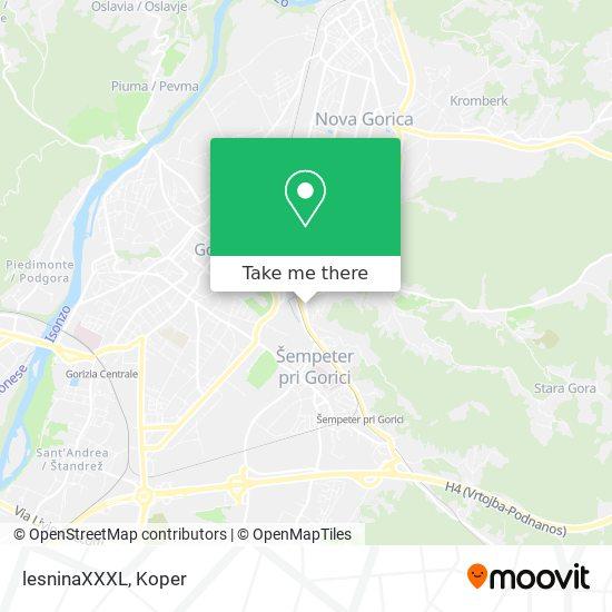 lesninaXXXL map