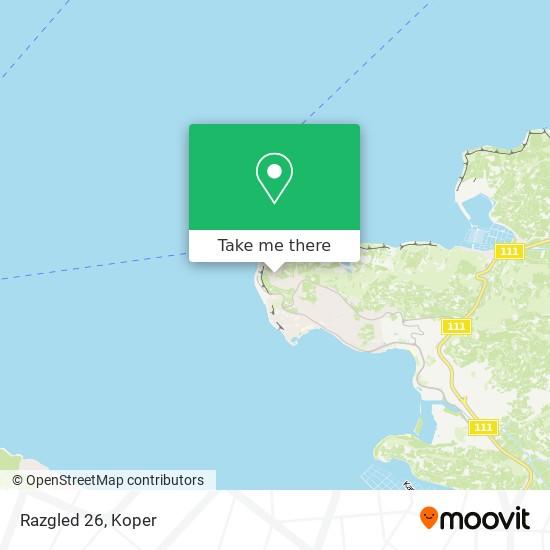 Razgled 26 map