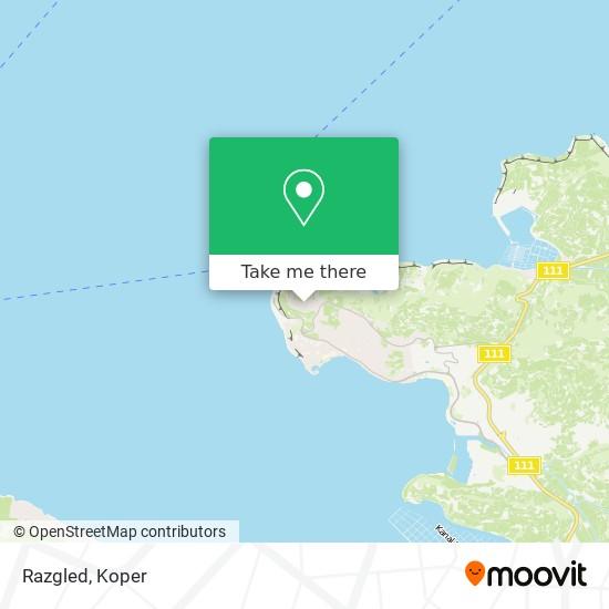 Razgled map
