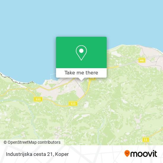 Industrijska cesta 21 map