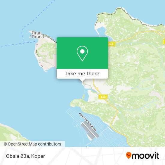 Obala 20a map