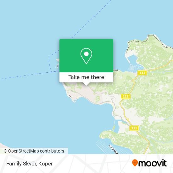 Family Skvor map