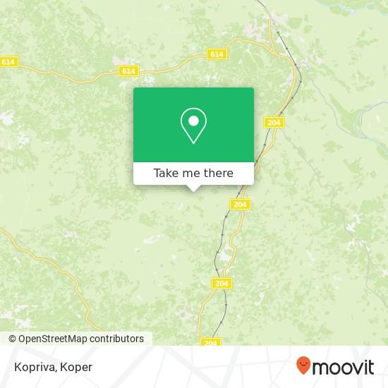 Kopriva map