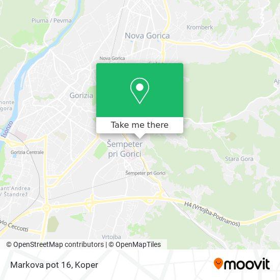 Markova pot 16 map
