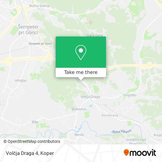 Volčja Draga 4 map