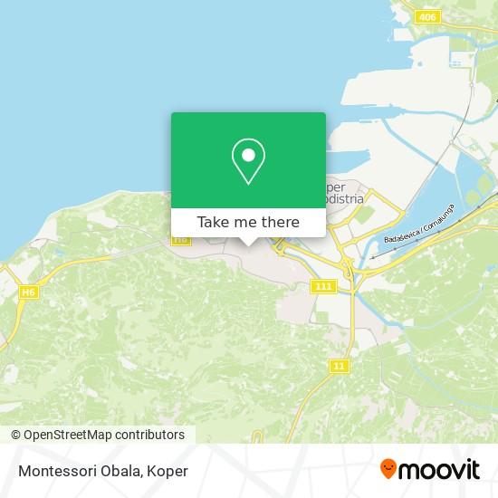 Montessori Obala map