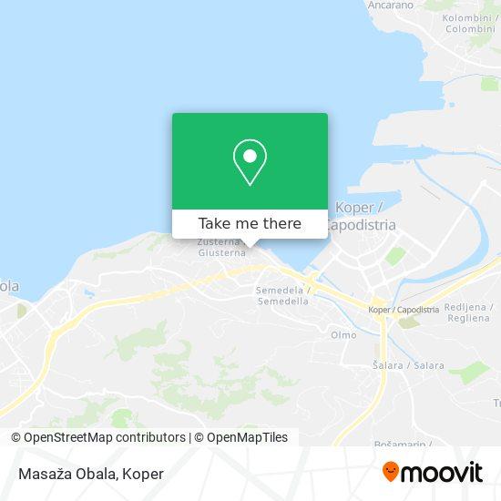 Masaža Obala map