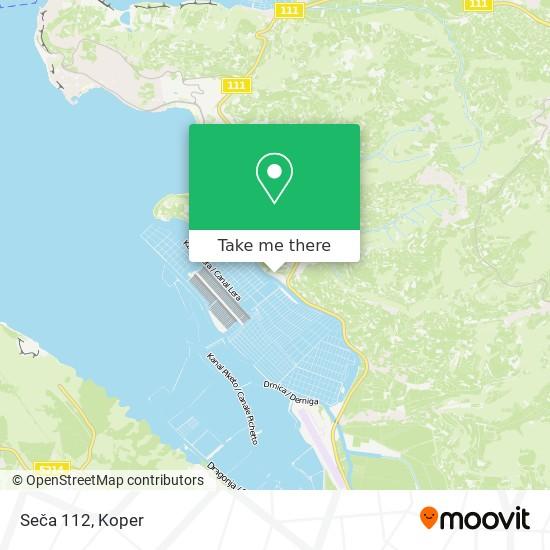 Seča 112 map