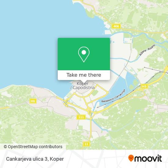 Cankarjeva ulica 3 map