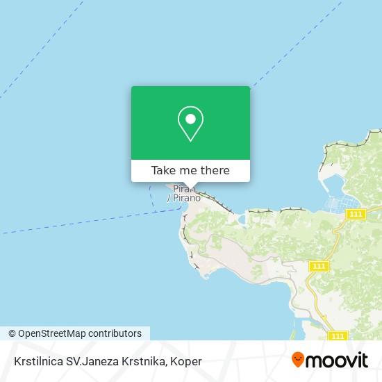 Krstilnica SV.Janeza Krstnika map