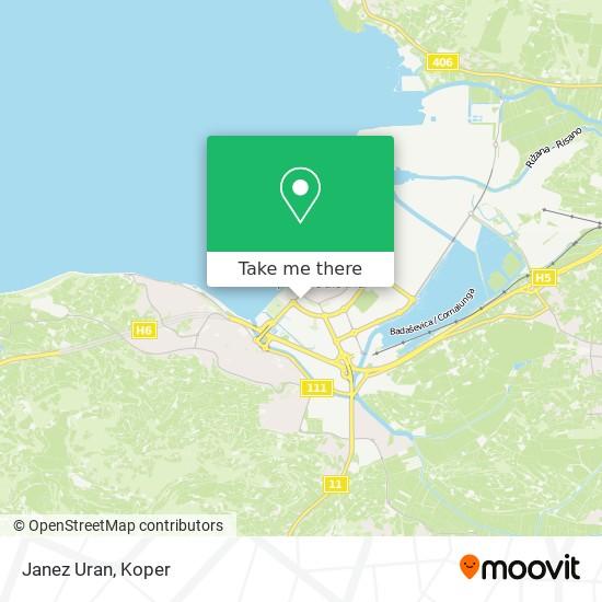 Janez Uran map