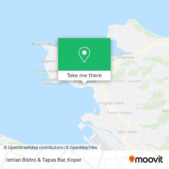 Istrian Bistro & Tapas Bar map