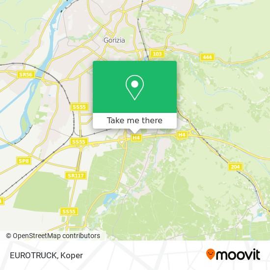 EUROTRUCK map