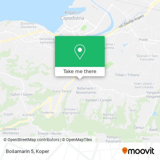 Bošamarin 5 map