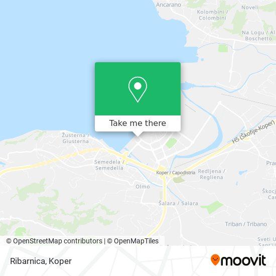 Ribarnica map