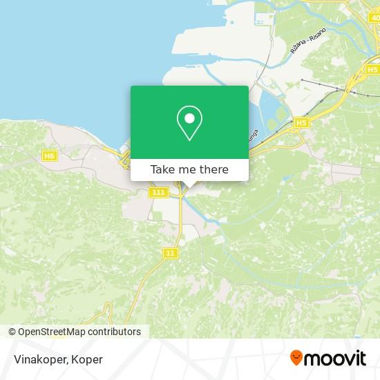 Vinakoper map