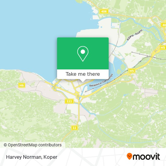 Harvey Norman map