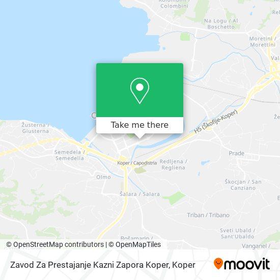Zapor map
