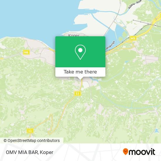 OMV MIA BAR map