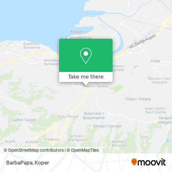 BarbaPapa map