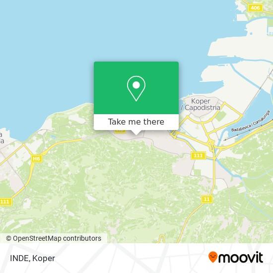 INDE map