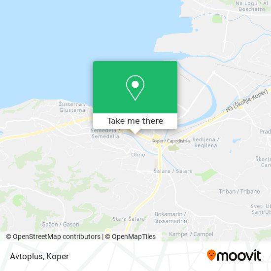Avtoplus map
