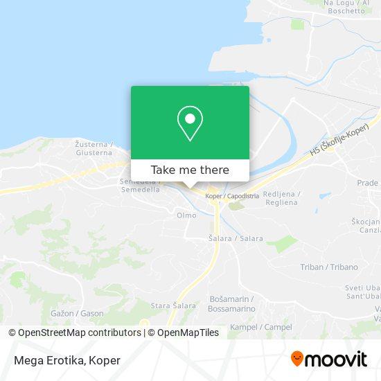 Mega Erotika map