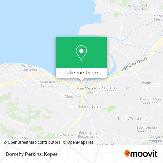 Dorothy Perkins map
