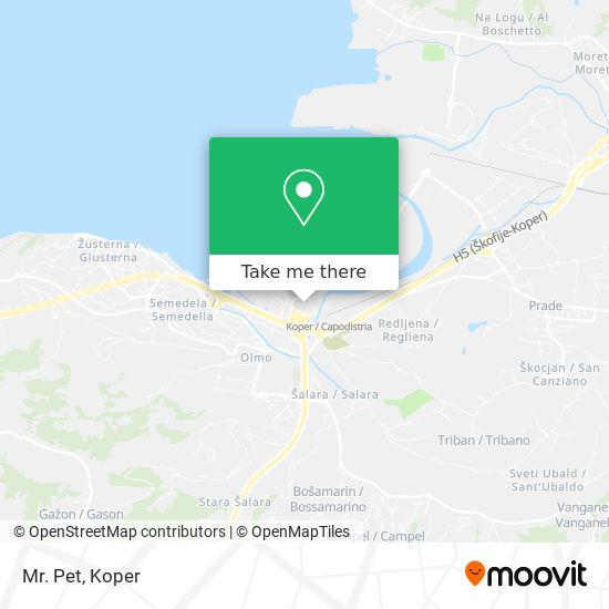 Mr. Pet map