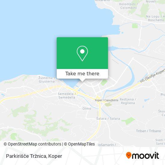 Parkirišče Tržnica map