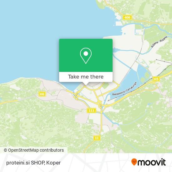 proteini.si SHOP map