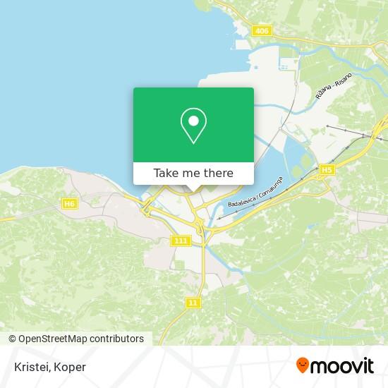 Kristei map