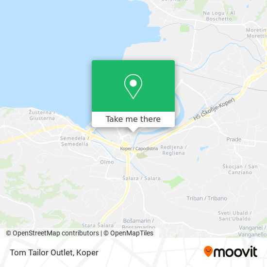 Tom Tailor Outlet map
