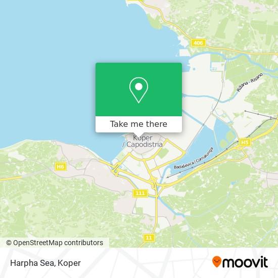 Harpha Sea map