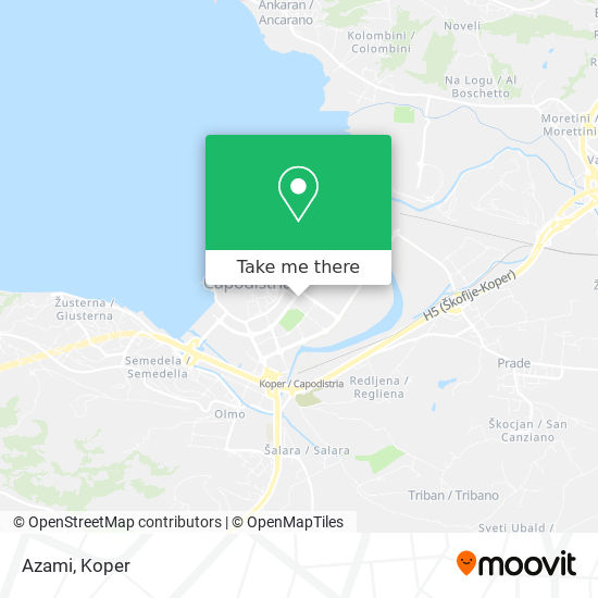 Azami map