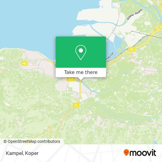 Kampel map